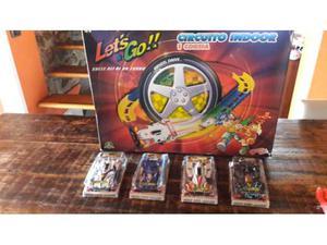 Mini 4wd lets &go! + pista circuito indoor giochi preziosi.