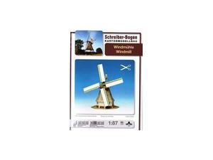 Schreiber Bogen 579 Windmill Mulino a Vento CARTAMODELLO