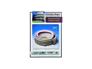 Schreiber Bogen 594 Colosseo Roma CARTAMODELLO