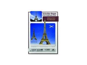 Schreiber Bogen 597 Torre Eiffel CARTAMODELLO