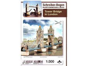 Schreiber Bogen 671 Tower Bridge Londra CARTAMODELLO