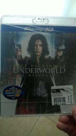 Underworld il risveglio blu ray 3d Originale
