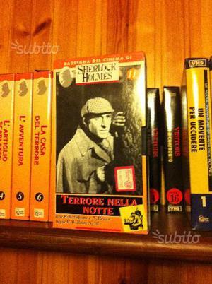 VHS originali Sherlock Holmes