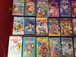 Vhs videocassette cartoni animati
