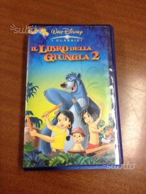 Videocassetta Il libro della giungla 2