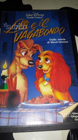 Videocassetta Lilly e il vagabondo - Walt Disney