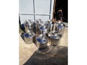 Contenitori x olio in acciaio inox  (sansone)