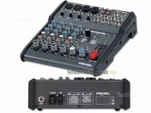 Mixer proel 6 canali