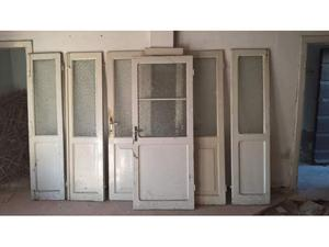 Porte anni 50 con inserti in vetro o in legno