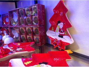 Stock articoli natalizi tovaglie puntali ghirlande luci