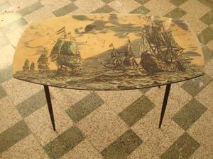 Tavolino da fumo anni 50 vintage modernariato