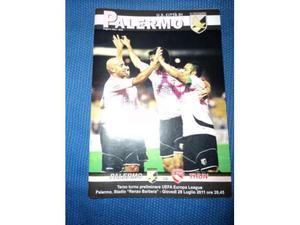 Booklet Palermo-Thun Europa League