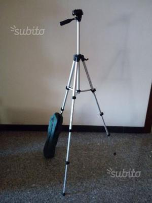Cavalletto treppiede alluminio fotocamera videocam