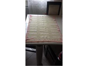 Copertina di lana all'uncinetto