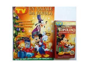 DiSNEY film originale Topolino e la Magia del Natale+albo