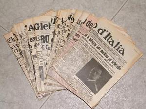 Grandi fatti rivissuti sui giornali d'epoca dal vol.1 al