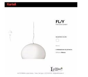 LAMPADA DA SOFFITTO FLY led kartell vendita online