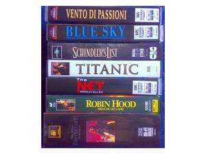 Lotto Stock 58 Film in VHS ORIGINALI Vario Genere Stock