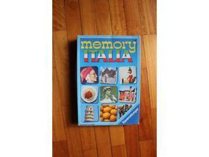 Memory Italia Ravensburger gioco scatola vintage anni 80