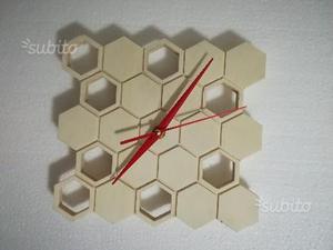 Orologio di legno da parete