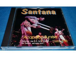 SANTANA - Acapulco Sunrise CD AUDIO Double Play