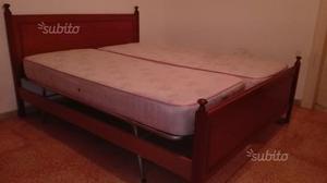 Letto comodini posot class - Stanza da letto romantica ...
