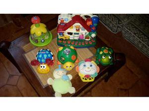 Stock giocattoli Chicco, fisher price