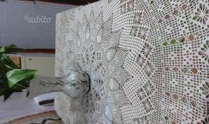 Copertina uncinetto fatta a mano tutta italia posot class - Tovaglia copritavolo ...