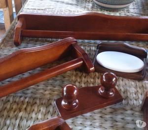Accessori bagno in legno posot class - Accessori bagno in legno ...