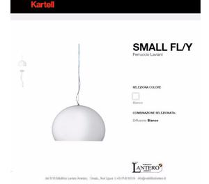 lampada a sospensione FLY small LED, design KARTELL