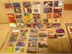 245 schede telefoniche da collezione