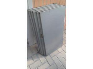 5 Ripiani in metallo da 100x50cm o 5 da 100x45