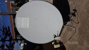 Antenna satellitare 120 cm con supporto