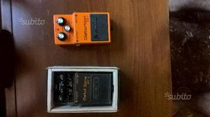 Boss metal zone e distortion ds1