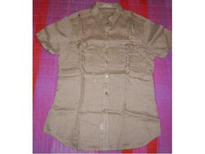 Camicia Uomo Beige XL
