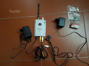 Kit telecamera e ricevitore senza fili