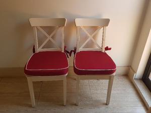 Vendo sedie ikea ingolf posot class for Ikea sedie bianche