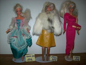 Vestiti di barbie originali anni  e 80