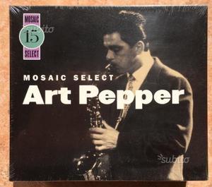 Art Pepper Mosaic Box Limitato e numerato