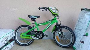 """Bicicletta bimbo Kawasaki con ruote da 16"""""""