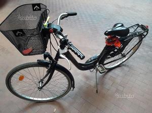 Bicicletta donna cerchi 26 e cestino