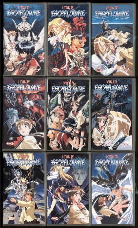 I cieli di Escaflowne (serie completa 9 VHS)