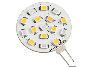 Lampadina LED SMD bianco blu 12V
