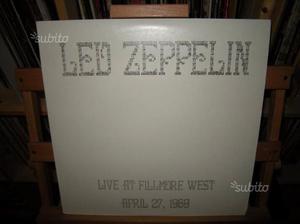 Led Zeppelin - Live At Fillmore West April