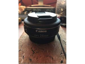 Obiettivo Canon 24mm f2.8 Pancake