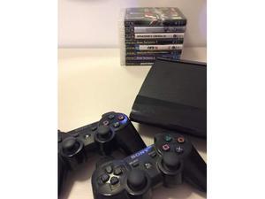 PlayStation 3 Super Slim 500gb + 2 joystick + 9 giochi