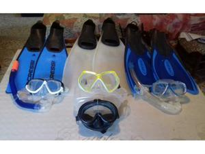 Set per immersioni e Snorkeling