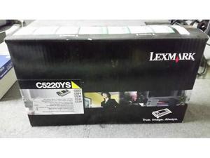 Toner originale Giallo lexmark CYS C522 C524 C530 C532