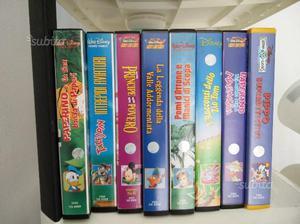 VHS cartoni animati Disney originali