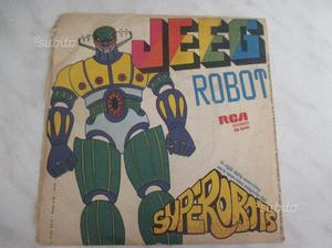 Vinile 45 giri Jeeg Robot